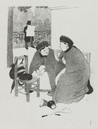 リトグラフ Hermann-Paul - LA VIE DE MADAME QUELCONQUE en dix tableaux lithographiés par HERMANN-PAUL
