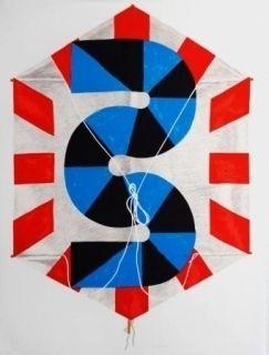リトグラフ Sugai - La vitesse du vent