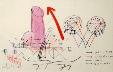 リトグラフ Tinguely - La Vittoria.