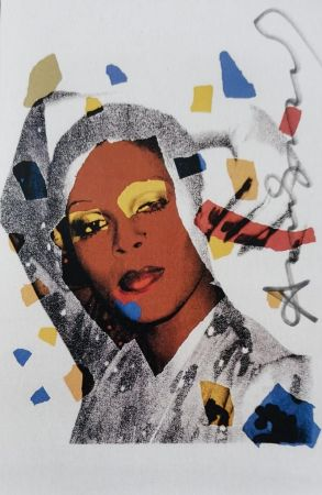 シルクスクリーン Warhol -  Ladies and Gentleman (Signed)