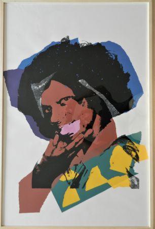 シルクスクリーン Warhol - Ladies and Gentlemen, plate 5
