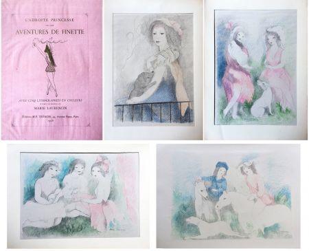 挿絵入り本 Laurencin - L'Adroite Princesse : ou LES AVENTURES DE FINETTE, conte de fées.