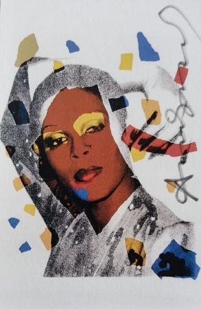 シルクスクリーン Warhol -  Laides and Gentleman (Signed)