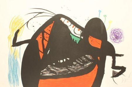 リトグラフ Miró - L'AIEULE DES 10,000 AGES