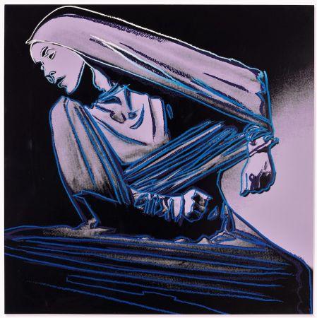 リトグラフ Warhol - Lamentation