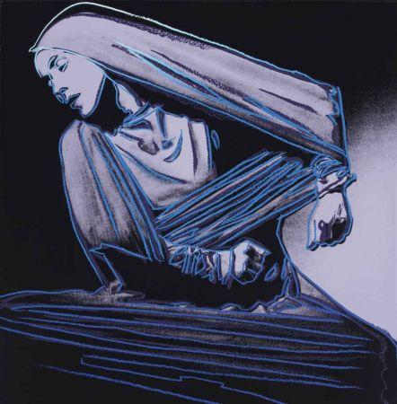 シルクスクリーン Warhol - Lamentation (FS II.388)