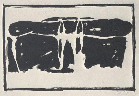 リトグラフ Hernandez Pijuan - Landscape 1