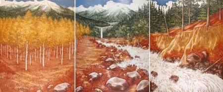 エッチング Culpepper - Landscape (Triptyque)