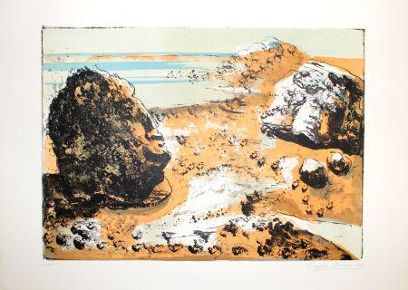 リトグラフ Berman - Landschaft / Landscape