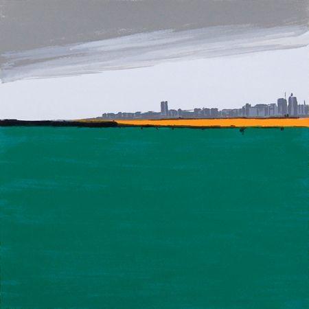 シルクスクリーン Nienstedt - Landschaften – 3