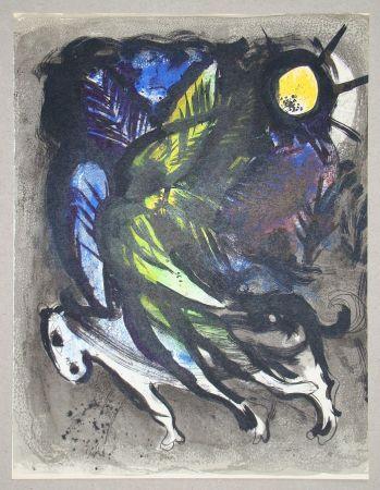 リトグラフ Chagall - L'Ange