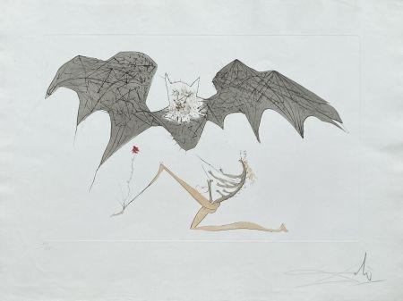リトグラフ Dali - L'ange de la mélancolie