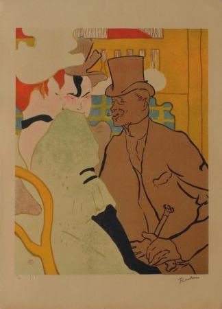 リトグラフ Toulouse-Lautrec - L'Anglais au Moulin Rouge