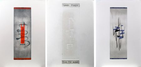 挿絵入り本 Springer - Lao-Tseu : Tao Te King : 17 burins en couleurs de F. Springer (1952)