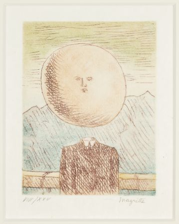 彫版 Magritte -   L'art de Vivre