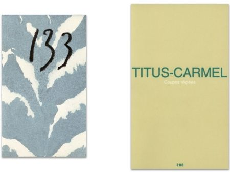 挿絵入り本 Titus Carmel - L'Art en écrit