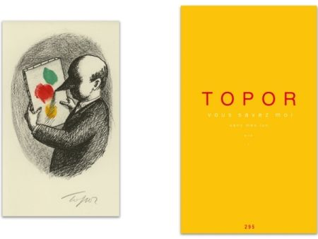 挿絵入り本 Topor - L'Art en écrit