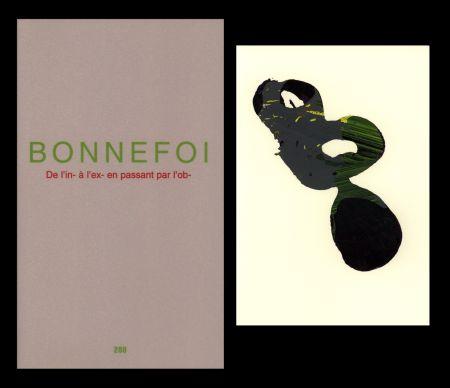 挿絵入り本 Bonnefoi - L'Art en écrit