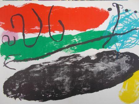 リトグラフ Miró - L'astre De Patagon