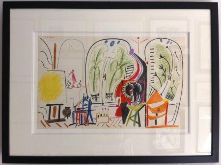 リトグラフ Picasso - L'atelier de la Californie