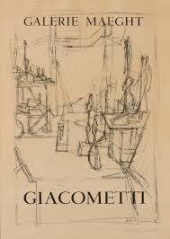 掲示 Giacometti - L'atelier de l'artiste