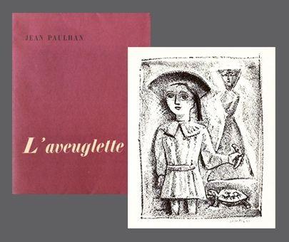挿絵入り本 Campigli - L'Aveuglette