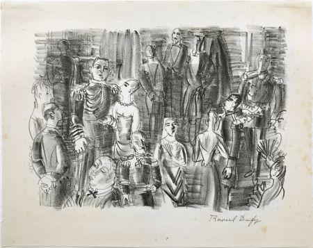 リトグラフ Dufy - Le Bal chez L'Amiral