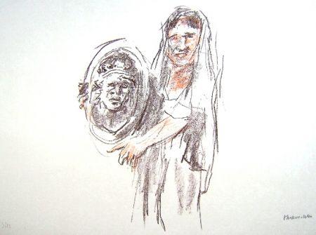 リトグラフ Kokoschka - Le Bal Masqué