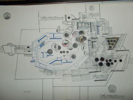 リトグラフ Steinberg - Le Bateau