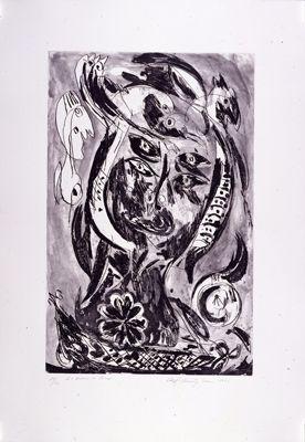 彫版 Pedersen - Le bateau de Caron