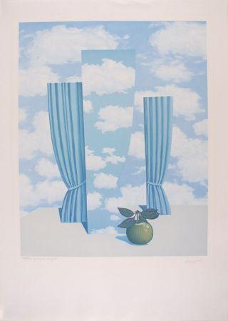 リトグラフ Magritte - Le Beau Monde - The Beautiful World