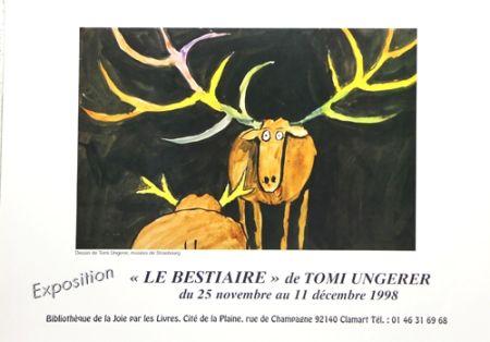 オフセット Ungerer - Le Bestiaire  1998