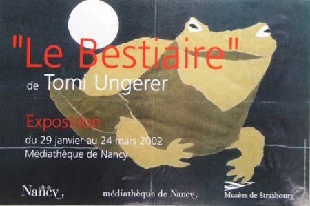 オフセット Ungerer - Le Bestiaire  Mediatheque de Nancy  2002