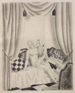 挿絵入り本 Leroy  - Le bon plaisir, Le malheureux petit voyage, La belle sans chemise, Le Diable amoureux, La Fille aux yeux d'or, etc.