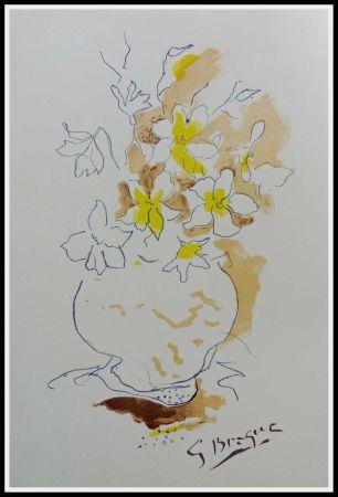 リトグラフ Braque (After) - LE BOUQUET