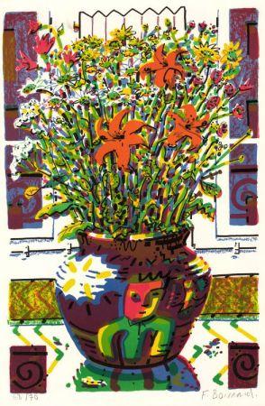 リトグラフ Boisrond - Le Bouquet