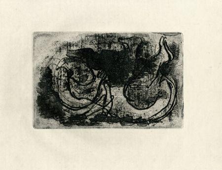 エッチング Fautrier - Le cadavre (Fautrier l'enragé)