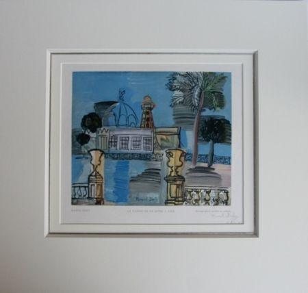 木版 Dufy - Le Casino de la Jetée a Nice
