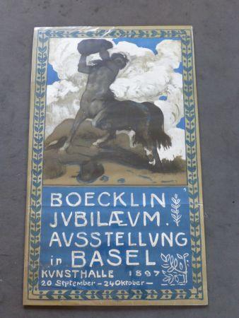 掲示 Boecklin - Le centaure ,musée de Bâle