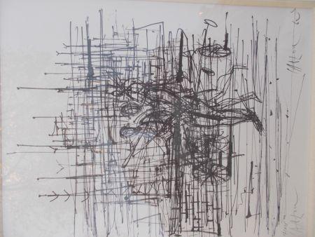 リトグラフ Carzou - Le champ de bataille