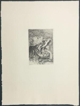 彫版 Renoir - Le Chapeau Épinglé