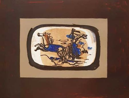 リトグラフ Braque - Le Char