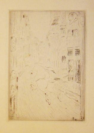 彫版 Ensor - Le Chevalier