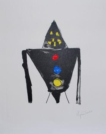 リトグラフ Ionesco - Le chevalier noir