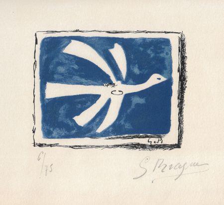 リトグラフ Braque - Le ciel bleu
