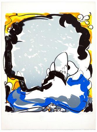リトグラフ Wyckaert - Le ciel miroir