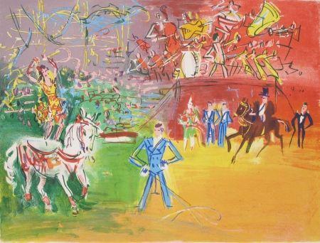 リトグラフ Dufy - Le Cirque