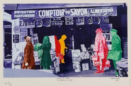 シルクスクリーン Fromanger - Le Comptoir du Savon