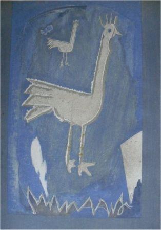 リトグラフ Braque - Le Coq