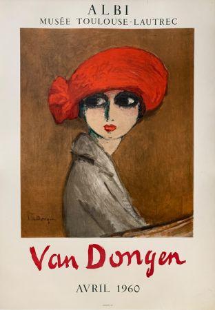 リトグラフ Van Dongen - Le Coquelicot
